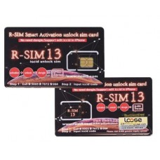 R-SIM 13 Smart Activation Unlock Sim Card Nano-SIM Unlock Card Support IOS12 For IPhone XR X XS 8 8Plus 7 7Plus