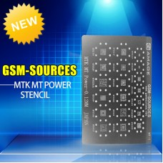 0.12MM MTK MT1 Series Power IC BGA Reballing Stencil