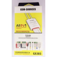 GS303 POWER CABLE SUPPORT IP 4 TO IP7 PLUS