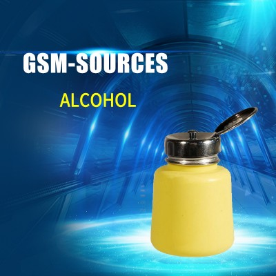 ALCOHOL BOTTLE YELLOW