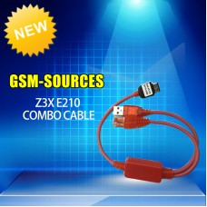 Z3X E210 COMBU USB AND RJ45 CABLES