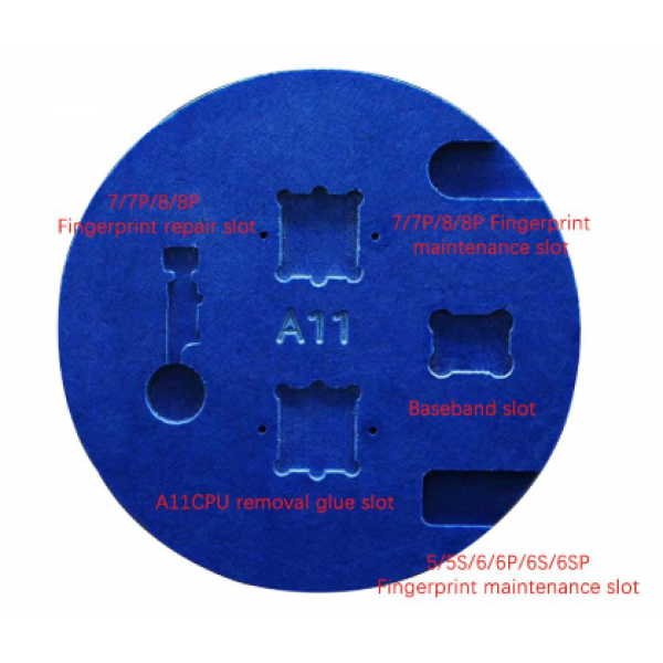 Microscope Remove Glue Positioning Slot Base Repair Fixture For
