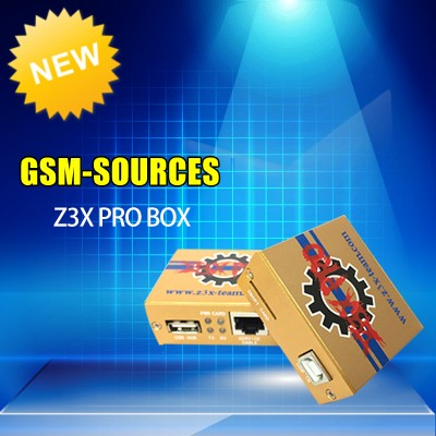 Z3X Box Pro Samsung Activated Golden Edition with Cable Set